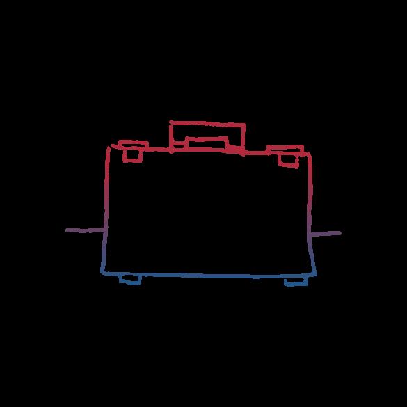 Colour Briefcase