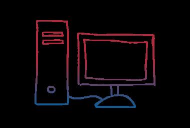 Colour Desktop PC