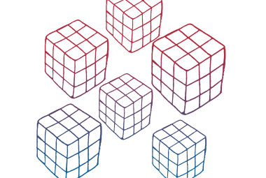 Colour 5 Cubes