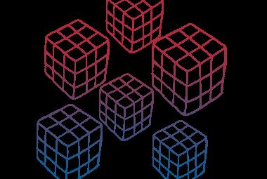 Colour 5 Cubes