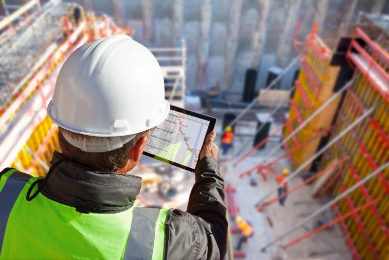 Construction site visual